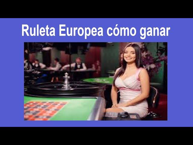 Ruleta Europea /cómo ganar a largo plazo en el Casino en línea / Estrategia 50 USD a 486 USD