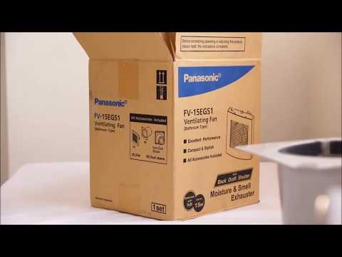 panasonic-exhaust-fan-unboxing-&-working