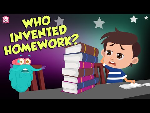 Who Invented Homework? | Invention Of Homework | The Dr Binocs Show | Peekaboo Kidz