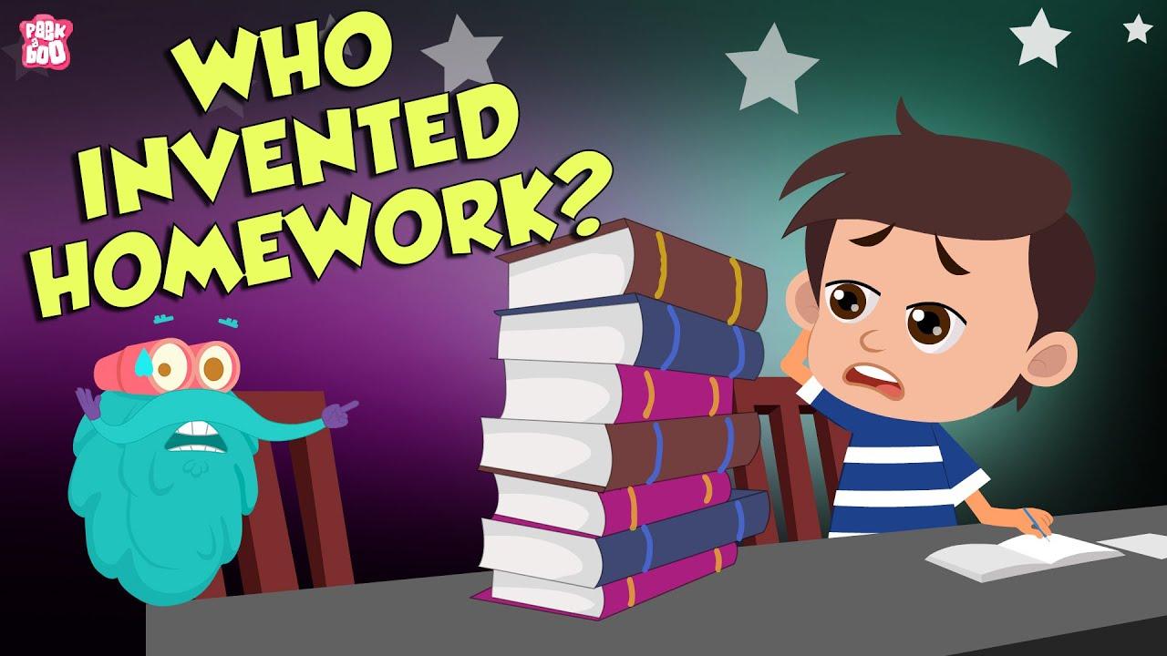 Download Who Invented Homework?   Invention Of Homework   The Dr Binocs Show   Peekaboo Kidz