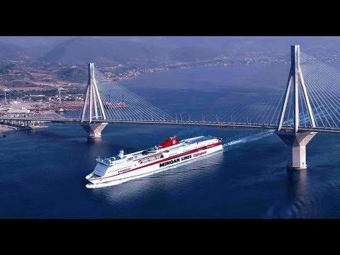Review of Ferry Italy Greece Minoan Lines Ancona - Patras Паром Италия - Греция взгляд изнутри