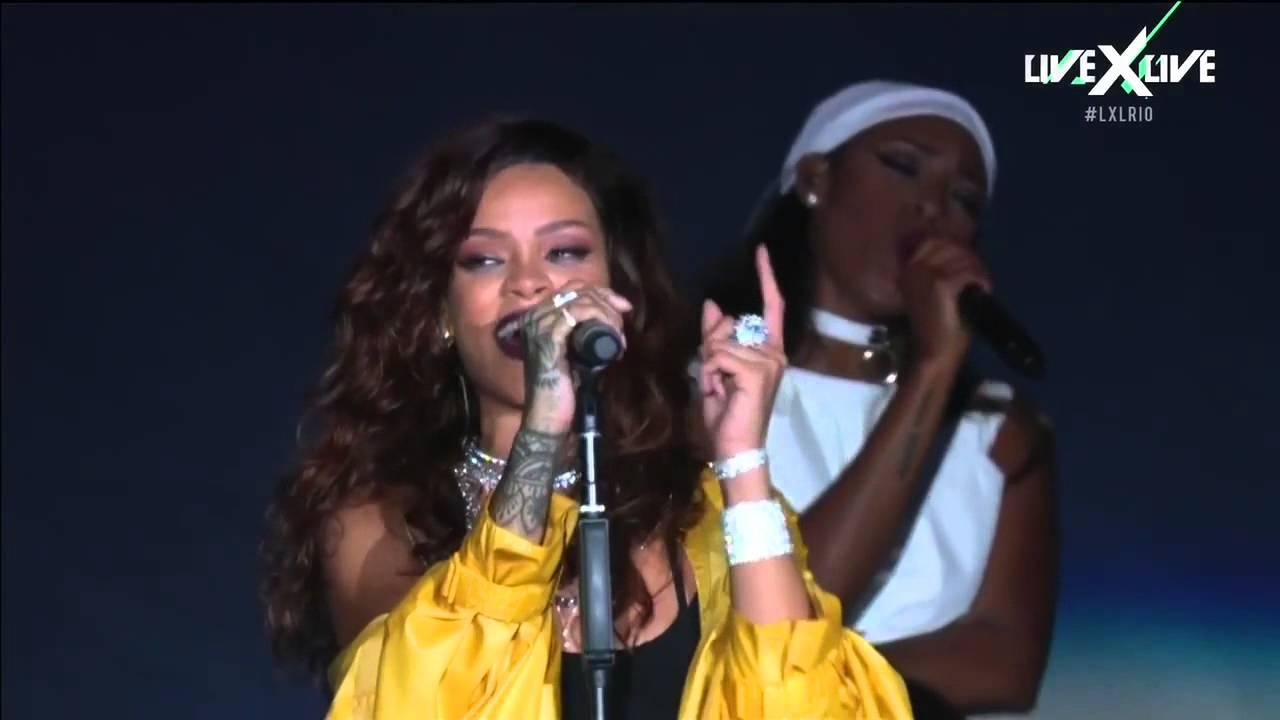 Resultado de imagen de Rihanna Rock in Rio 2015 live full HD Completo