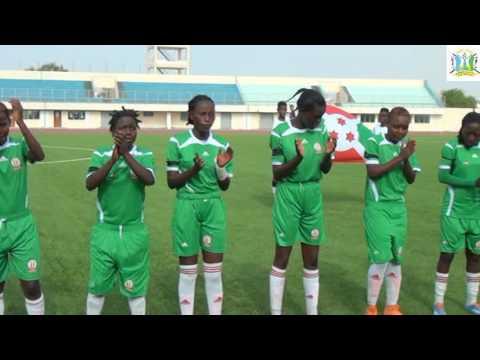 Djibouti vs Burundi 1 - 2  qualification des -20ans Foot feminin a` la Coupe du Monde