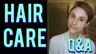 Hair loss Q&A with a dermatologist: hair care tips 💇🤔