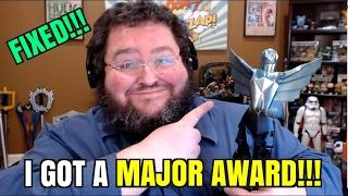 (FIXED) I GOT A MAJOR AWARD!!! 2016 Game Awards Statue for Trending Gamer!