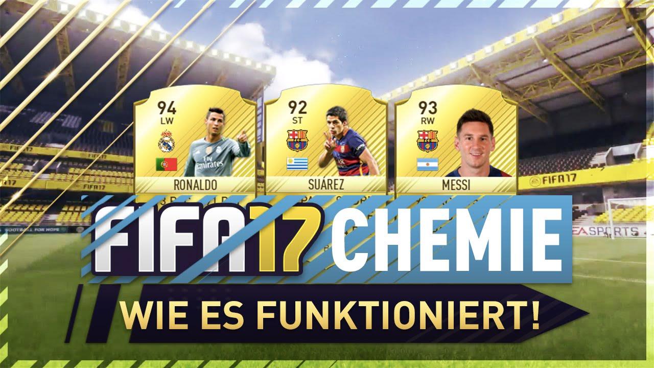 Fifa 17 Chemie