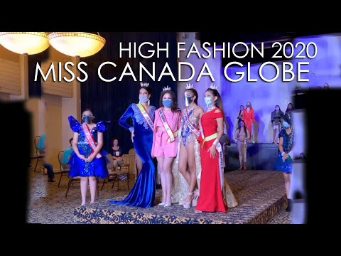 Miss Canada Globe High Fashion 2020