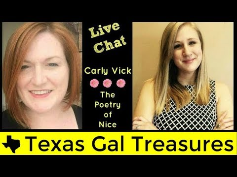 Interview #8 - Live Hangout - Q & A with Carly Vick -The Poetry of Nice Reseller Chat