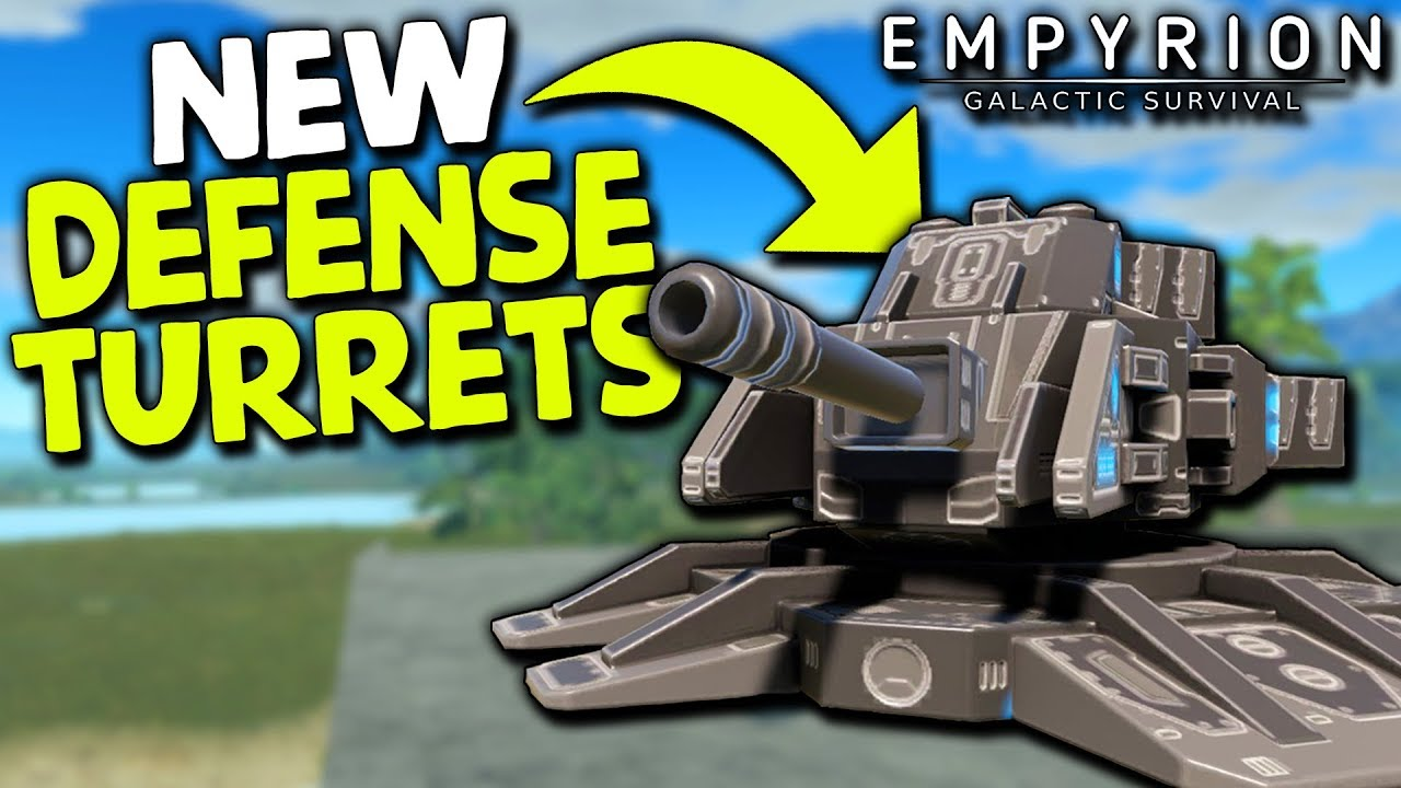 NEW DEFENSE TURRETS in ALPHA 9 | Empyrion Galactic Survival