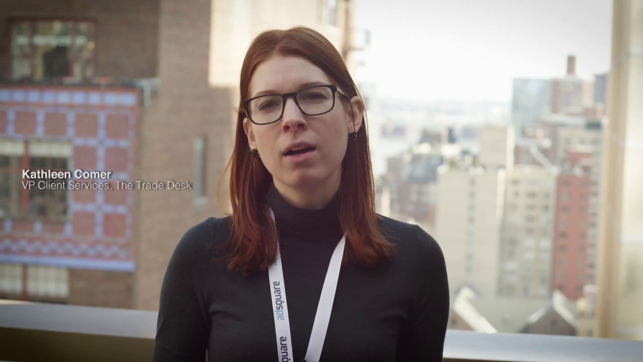 Audiences In Motion New York: Kathleen Comer, VP Client Services, The Trade  Desk