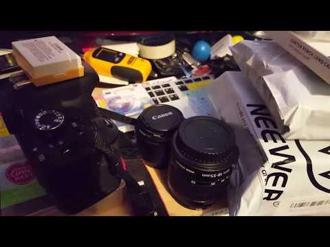 Canon 600d setup upgrades