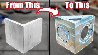 How I Weld and Machine Aluminum Parts Like This from Start to Finish. #090