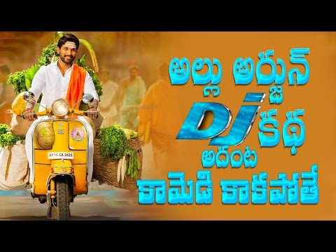 LOL !! Is it the story of Allu Arjun''s DJ Duvvada Jagannadham || Harish Shankar