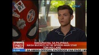 UB: Makapasyal sa Pilipinas, nasa bucketlist ni Spider-man star Tom Holland