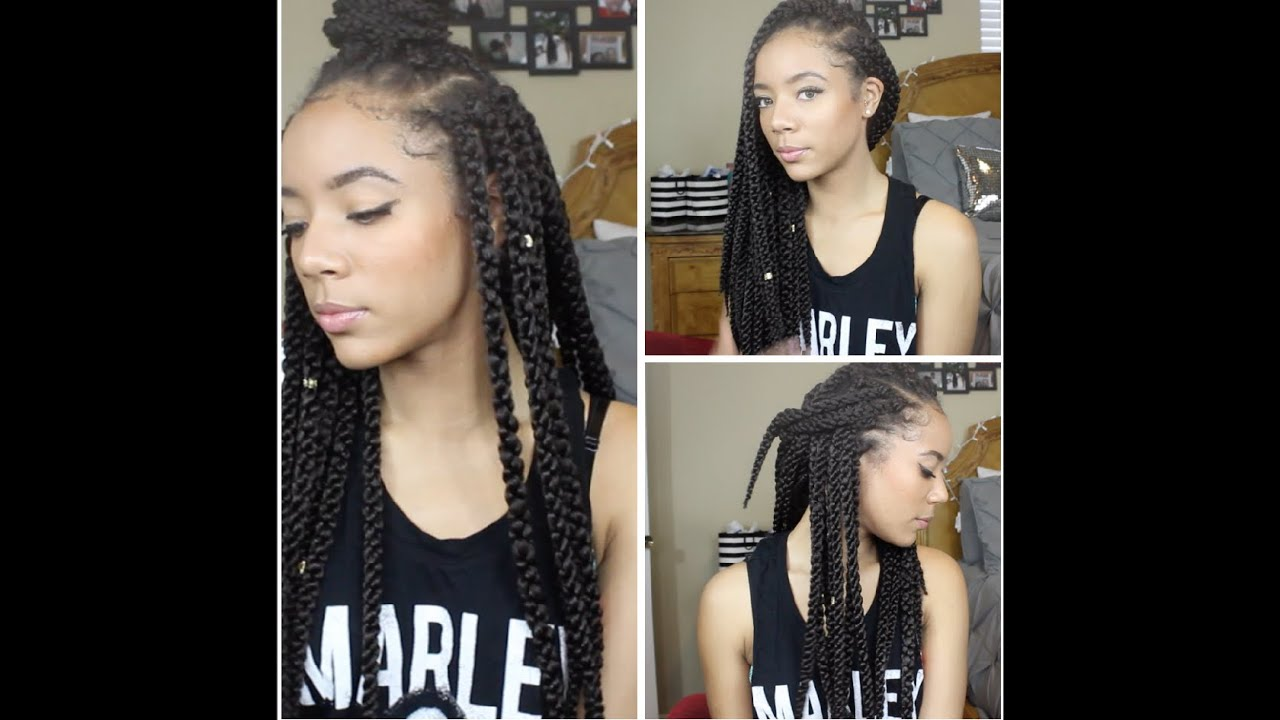 New 3d Cubic Twist Crochet Braids Youtube