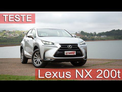 Lexus NX200t Oferece Design Inovador E Bom Desempenho