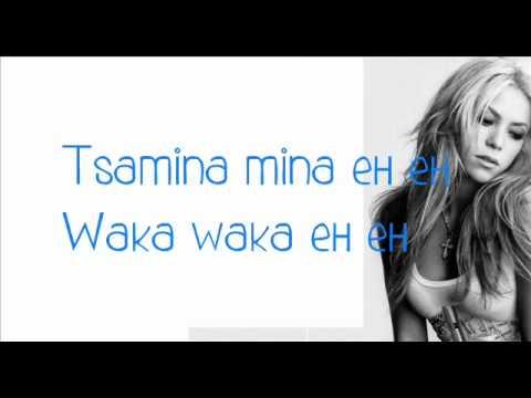 Shakira - Waka Waka (This Time For Africa) Lyrics Ft. Freshly Ground