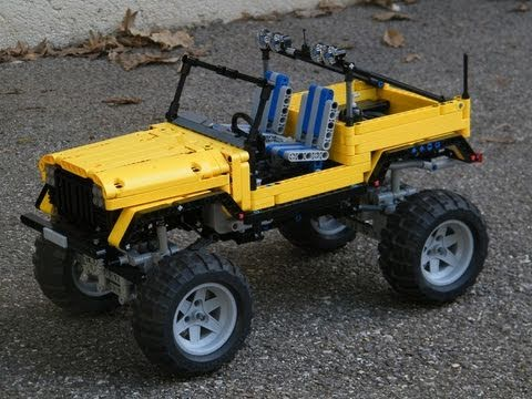 lego technic trial jeep by nico71 youtube. Black Bedroom Furniture Sets. Home Design Ideas