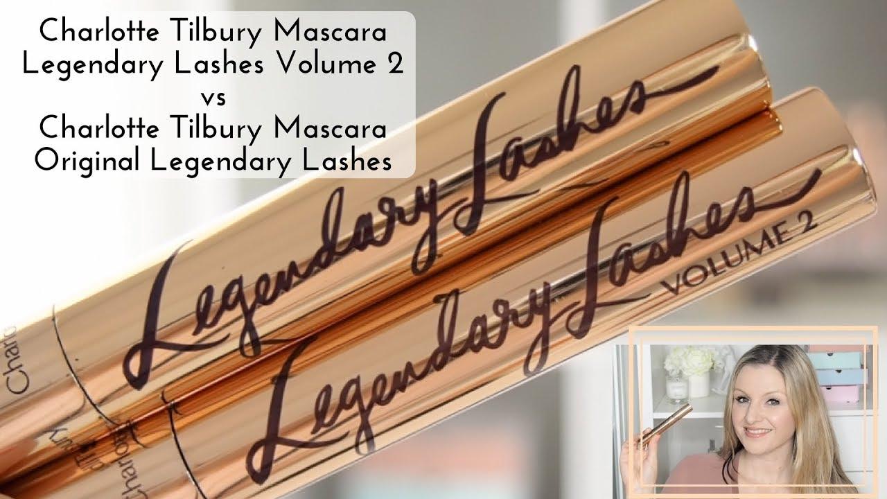 a7c0789e22e Charlotte Tilbury Legendary Lashes Mascara Volume 2 vs Legendary Lashes  Original