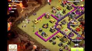 #BloodSyndicate2 [Clan War - Clash Of Clans] Golem Wizard Witch