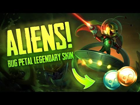 Vainglory Skins - BUG PETAL [L] SKIN!! Petal |CP/WP| Blitz Gameplay [Update 2.1]