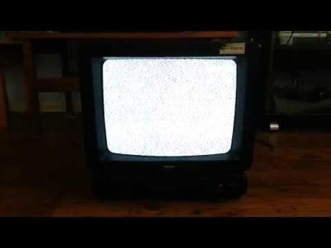 The last few seconds of analog TV in Perth Australia