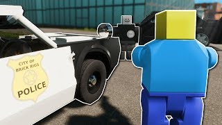POLICE CHASE IN NEW CITY! - Brick Rigs Multiplayer Gameplay - Lego Cops and Robbers