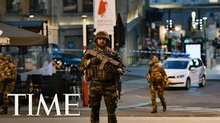 Suspect Shot After Explosion At Brussels Train Station In City's Main Square | TIME thumbnail