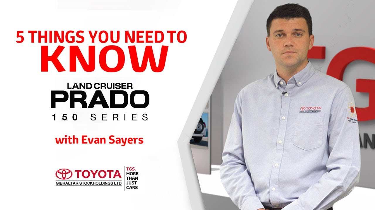 5 Things you need to know - Toyota Land Cruiser Prado