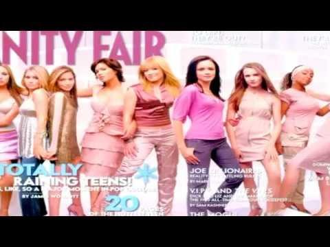 Hilary Duff - Entertainment Tonight - Photoshoot Vanity Fair Magazine 2003 - HD