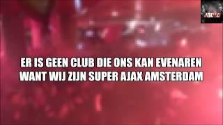 Ajax Godenzonen Superjoden - VAK410 Song