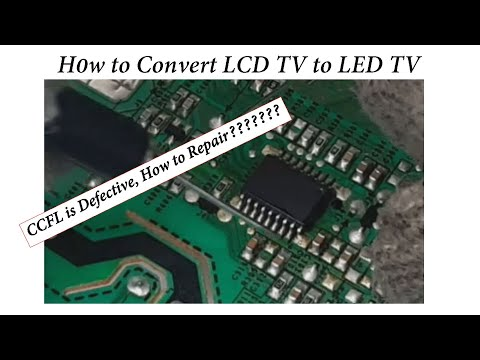 LG #LCD TV# Converted To #LED TV#