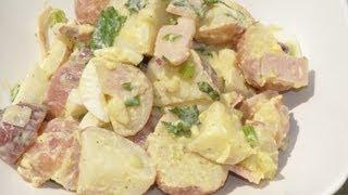 #28 Food| Potato Salad W/ No Mayo