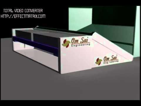 Conveyor and Stacking Arrangement, Manufacturer Om Sai Engineering Aurangabad(M.S) India