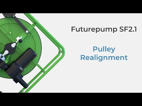 Futurepump SF2.1: Pulley Realignment