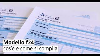 sanatoria 2020 italia modello F24 come si compila  القانون الاوراق الاطاليا  F24 كيف تعمر