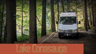 Van Camping in North Georgia | Lake Conasauga