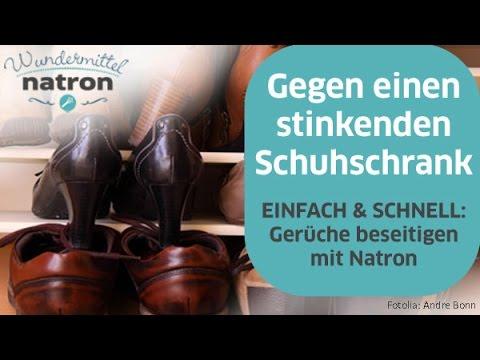 Natron Geruche Entfernen ~ Schuhschrank stinkt u2013 was hilft wirklich? youtube