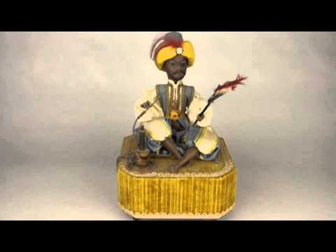 Smoking Turk Music Box / Automaton