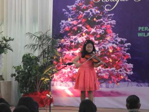Lagu Natal- Violin
