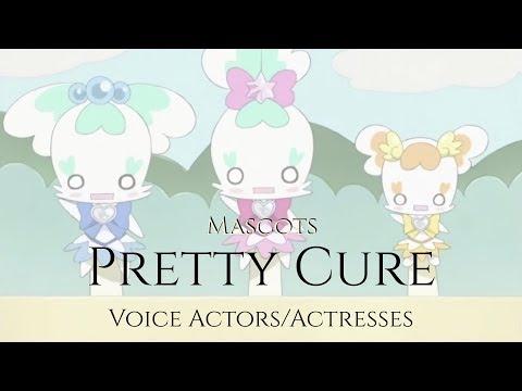 Read Description Pretty Cure Mascots Voice Actors Actresses