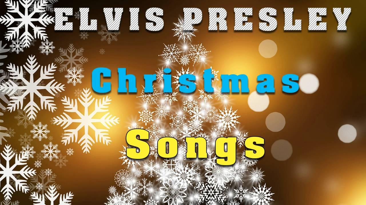 Elvis Presley Christmas Songs - YouTube