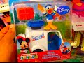 MAIL TOSS & DONALD DUCK Action Figure from MICKEY MOUSE CLUBHOUSE by Fisher Price TOY REVIEW
