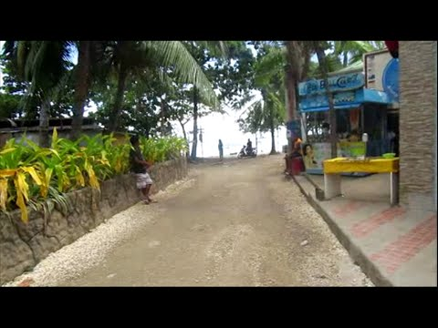 Alona Beach, Panglao, Bohol Philippines Video 1 of 4  ~ Philippine Tourism, Motorcycle Adventures
