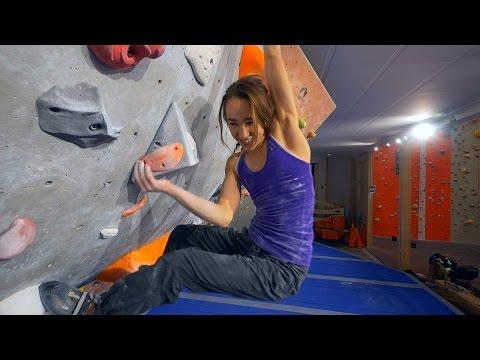 We Are Finally Climbing With Kajsa Rosén!