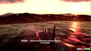 Top Gun Hardlock Gameplay Xbox360 HD (GodGames Preview)