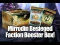 MTG - Mirrodin Besieged Faction Booster Box Opening!