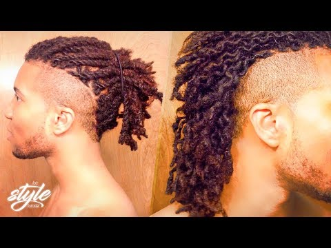 Dreadlock Two Strand Twists Twist Outs Curly Locs Youtube