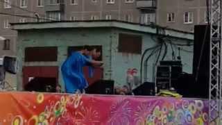 Группа Карусель. День города. Анастасия  Казанцева, Муромцева, Шагаева, Гребенкина.
