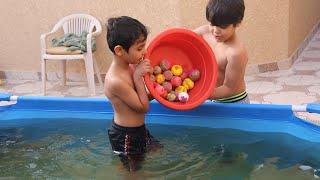 غيرنا لون المسبح !!!